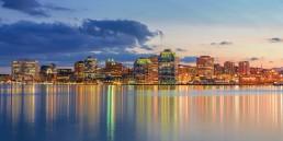 Halifax evening skyline